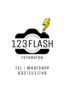 123 Flash Logo