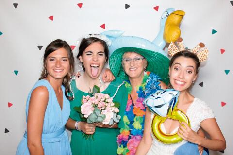 Fotomatón para bodas Galicia